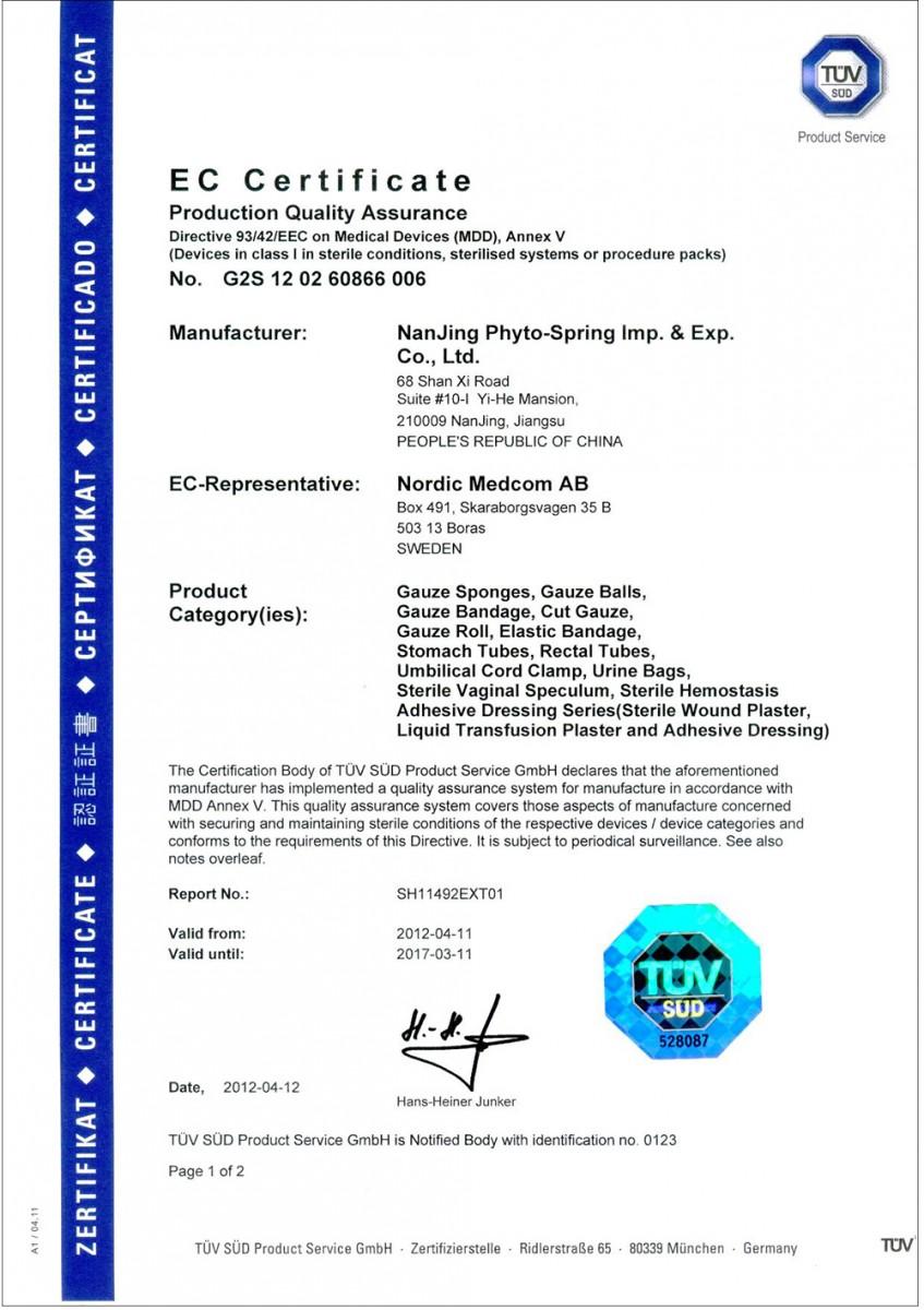 Сертификация по требованиям стран ес коммюнике исо и мфа по исо 90012008